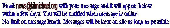 email parish priest with messages